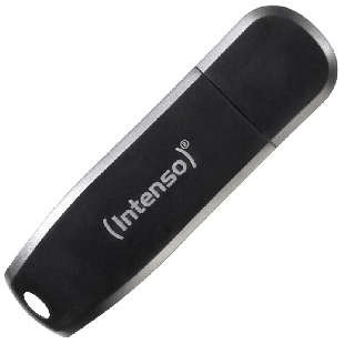 Intenso 128GB USB 3.0 Memory Pen Speed Line - Black