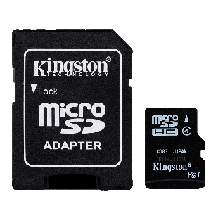 Kingston 8GB High Capacity Micro SD Card with SD Adapter