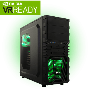 Refurb - CK Intel Core i7-7700, GTX 1060 6GB Gaming PC