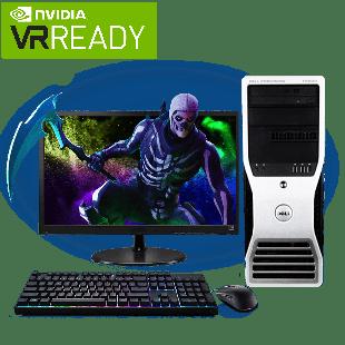 CK - Refurb Intel Xeon X5550/32GB RAM/4TB HDD/GeForce 1080 8GB/Full Set Gaming Pc/B