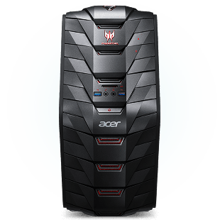 Refurb - CK Acer Predator G3-710/Intel Core i5-6400/8GB RAM/2TB HDD/GTX 970/DVD-RW/Windows 10/B