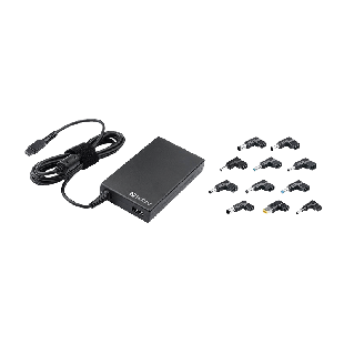 Sandberg Mini 100W Laptop PSU, 11 Adapters, Auto Switching, 5 Year Warranty