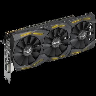 Asus ROG STRIX GTX1070, 8GB DDR5, PCIe3, DVI, 2 HDMI, 2 DP, RGB Lighting, DirectCU III