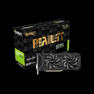 Palit GTX1070 Ti DUAL, 8GB DDR5, DVI, HDMI, 3 DP, 1683MHz