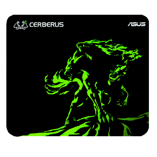 Asus Cerberus MINI Gaming Mouse Pad - Black & Green