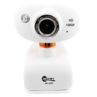 Jeway JW-5324 5.0MP 1080p HD Microphone Digital Webcam