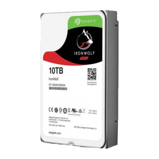 "Seagate 3.5"", 10TB, SATA3, IronWolf Pro NAS Hard Drive, 7200RPM, 256MB Cache, 2 Yr Data Recovery Service"