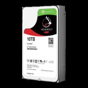 "Seagate 3.5"", 10TB, SATA3, IronWolf NAS Hard Drive, 7200RPM, 256MB Cache"