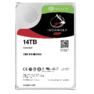 "Seagate 3.5"", 14TB, SATA3, IronWolf NAS Hard Drive, 7200RPM, 256MB Cache"