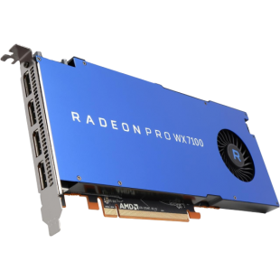 AMD Radeon Pro WX 7100 Professional Graphics Card, 8GB DDR5, 4 DP 1.4, 1080MHz, CrossFire