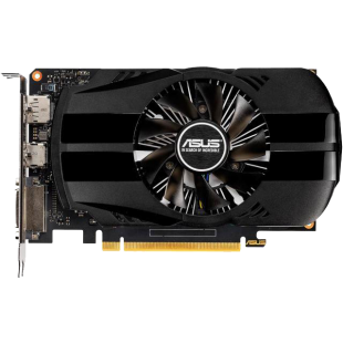 Asus Phoenix GTX1650 OC, 4GB DDR5, DVI, HDMI, DP, 1710MHz Clock, Overclocked, Compact Design