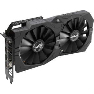 Asus GTX1650 STRIX OC, 4GB DDR5, 2 HDMI, 2 DP, 1860MHz Clock, Overclocked, RGB Lighting