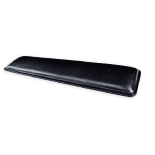 Xtrfy WR1 PU Leather Wrist Rest for Keyboard - Black