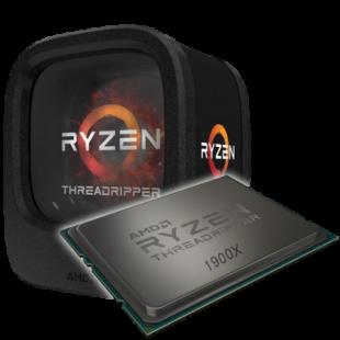 AMD Ryzen Threadripper 1900X, TR4, 3.8GHz (4.0 Turbo), 8-Core, 180W, 20MB Cache, 14nm, No Graphics, NO HEATSINK/FAN