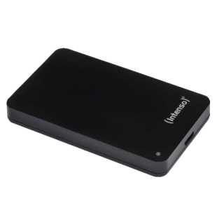 "Intenso 2TB Memory Case External Hard Drive, 2.5"", USB 3.0, Black"