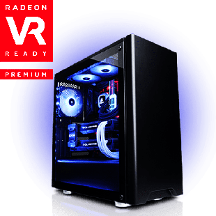 CK - AMD Ryzen 5 2500X, RX 580 Gaming PC