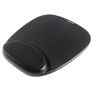 Sandberg (520-23) Mouse Pad with Ergonomic Wrist Rest - Black