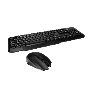 Spire RF-888 Wireless Keyboard and Mouse Kit - Black