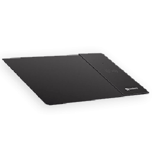 Sandberg (441-12) Mouse Pad with Qi Wireless Charging Area Supports Fast Charge - Black