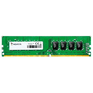 ADATA 4GB PC4-21300 DDR4-2666MHz Non-ECC Unbuffered 288-Pin CL19 1.2V DIMM Memory Module