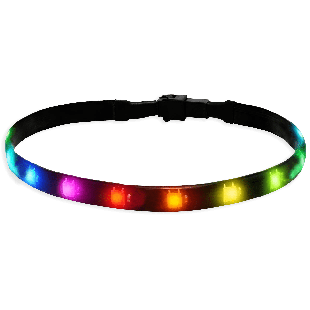 Akasa Vegas MB RGB LED Light Strip, 60CM, 12V, Molex 4-Pin, Magnetic Backing, Aura Sync Compatible