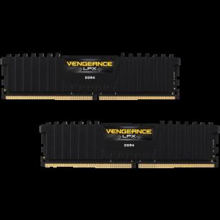 Corsair Vengeance LPX 8GB Kit (2 x 4GB), DDR4, 2400MHz (PC4-19200), CL16, XMP 2.0, DIMM Memory