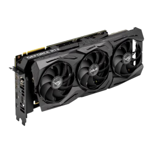 Asus ROG STRIX RTX2080 Ti Advanced, 11GB DDR6, 2 HDMI, 2 DP, USB-C, 1590MHz Clock, RGB Lighting