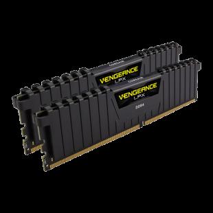Corsair Vengeance LPX 16GB Kit (2 x 8GB) DDR4 2666MHz (PC4-21300) CL16 XMP 2.0 DIMM Memory