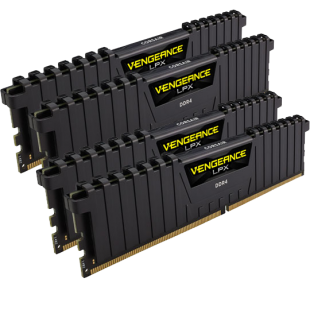 Corsair Vengeance LPX 32GB Kit (4 x 8GB) DDR4 3000MHz (PC4-24000) CL15 XMP 2.0 DIMM Memory