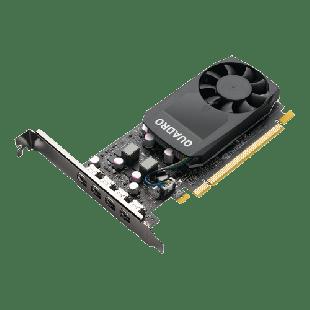 PNY Quadro P1000 V2 Professional Graphics Card, 4GB DDR5,PCIe, 3.0 Low Profile