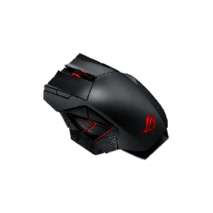 Asus ROG Spatha Wired / Wireless Gaming Mouse with RGB LED - Black