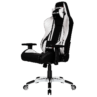 AKRacing Masters Series Premium Gaming Chair - Black & Silver