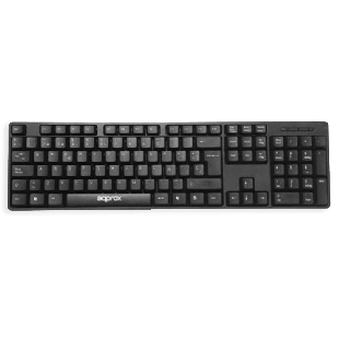 Approx USB Wired Keyboard - Black