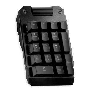 Asus ROG Claymore Bond RGB Detachable Numberpad - Black