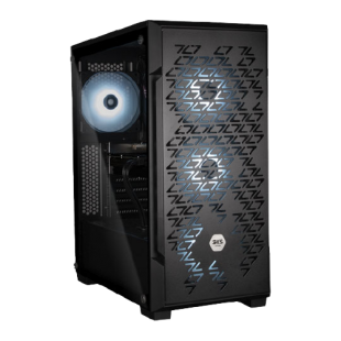 3XS Gamer iCUE RTX Gaming PC/ AMD Ryzen 7 5800X/ NVIDIA GeForce RTX 3060/ 16GB RAM/ 1TB SSD+2TB HDD/ Windows 10 Home