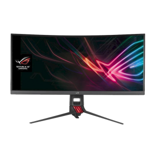 "Asus 35"" ROG Strix UWQHD Curved Gaming Monitor, 3440 x 1440, 4ms, HDMI, DP, RGB Lighting, VESA"