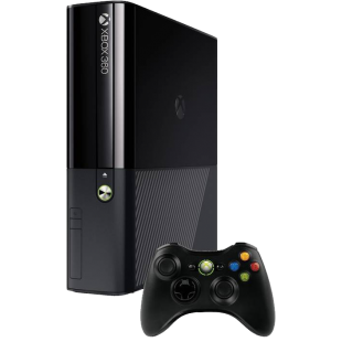 "Refurbished Xbox 360 ""E"" Console, No HD, Black, B"