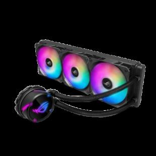 Asus ROG STRIX LC360 RGB 360mm Liquid CPU Cooler, 3 x Addressable RGB PWM Fans