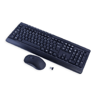 Sumvision Paradox VI Wireless Keyboard and Mouse Kit - Black