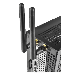 Asrock WiFi Kit for the DeskMini Mini-STX Chassis,  2 x Antennas