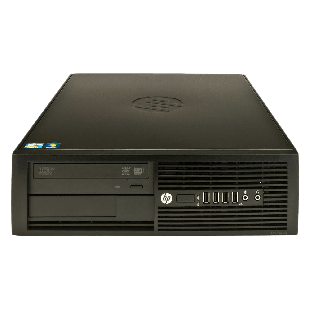 Refurbished HP Pro 4300 SFF PC i3-3220, 4GB RAM, 250GB HDD, DVD-RAM, B