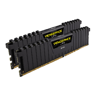 Corsair Vengeance LPX 16GB Kit (2 x 8GB), DDR4, 3200MHz (PC4-25600), CL16, XMP 2.0, DIMM Memory