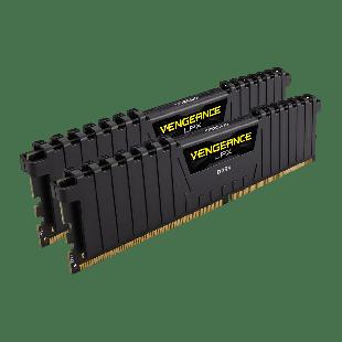 Corsair Vengeance LPX 16GB Kit (2 x 8GB), DDR4, 3000MHz (PC4-24000), CL16, XMP 2.0, DIMM Memory
