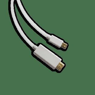 Sandberg 1.5-Metre Mini Display Port Male to HDMI Male Converter Cable - White