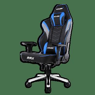 AKRacing Masters Series Max Gaming Chair - Black & Blue