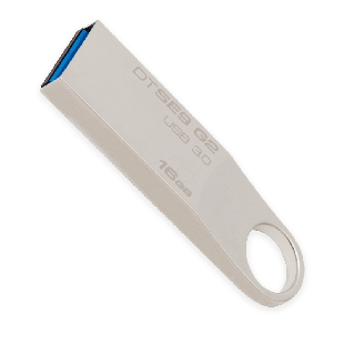 Kingston 16GB USB 3.0 Memory Pen DataTraveler SE9 G2 - Metal