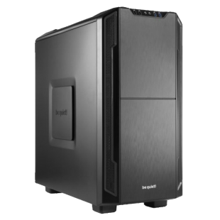 Be Quiet! Silent Base 600 Gaming Case with Window, ATX, No PSU, Tool-less, 2 x Pure Wings 2 Fans, Black