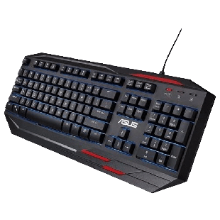 Asus SAGARIS GK100 Gaming Keyboard 7-Colour LED Backlighting 23 Anti Ghosting Keys
