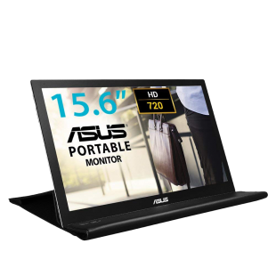 "Asus 15.6"" Portable Monitor (MB168B),Smart Case Stand, 1366 x 768, USB 3.0."