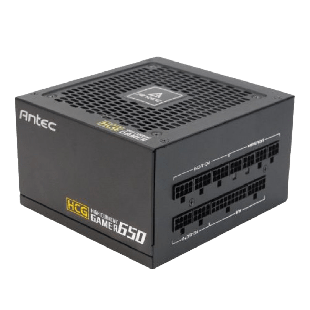 Antec 650W High Current Gamer Gold PSU, Fully Modular, Fluid Dynamic Fan, 80+ Gold